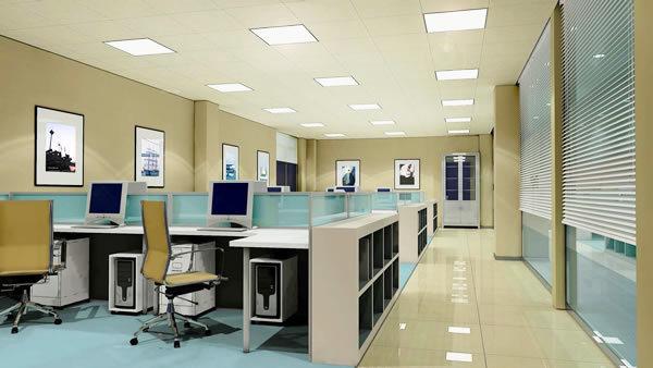 办公楼装修如何营造产品立体感